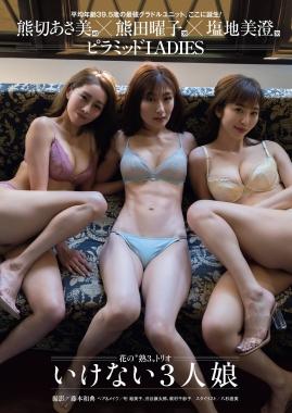Youko Kumada, Asami Kumakiri Misumi Shiochiswimsuit underwear gravure flower maturethree trio three bad girls001