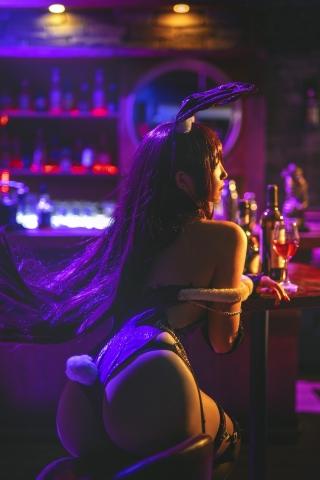 Bunny Girl Bar Scasaha Fate Grand Order001