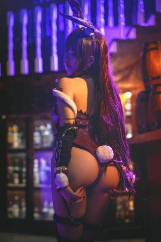 Bunny Girl Bar Scasaha Fate Grand Order005