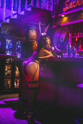 Bunny Girl Bar Scasaha Fate Grand Order007