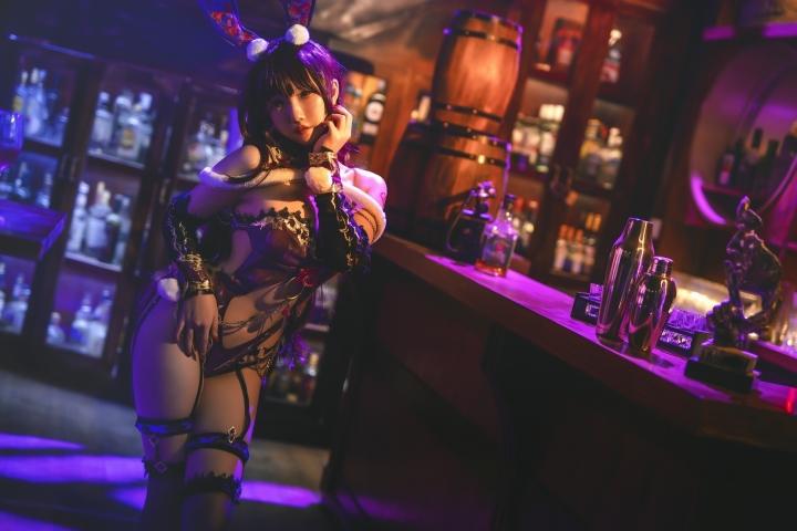 Bunny Girl Bar Scasaha Fate Grand Order008