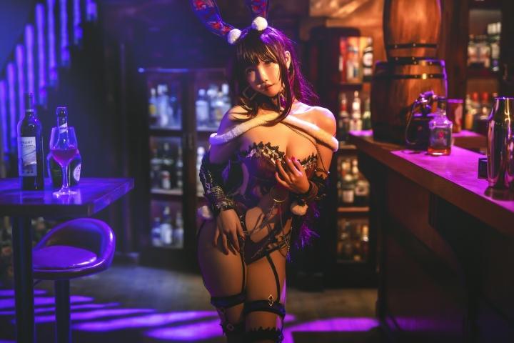 Bunny Girl Bar Scasaha Fate Grand Order009