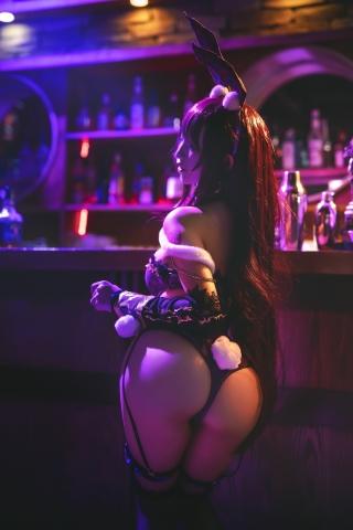Bunny Girl Bar Scasaha Fate Grand Order012