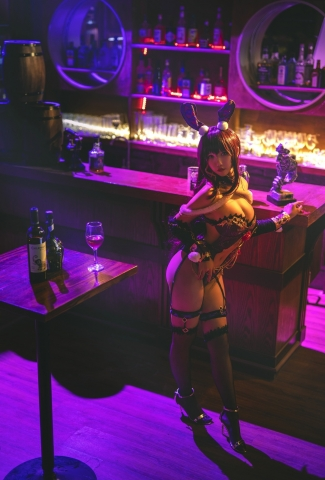 Bunny Girl Bar Scasaha Fate Grand Order011