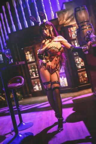 Bunny Girl Bar Scasaha Fate Grand Order010