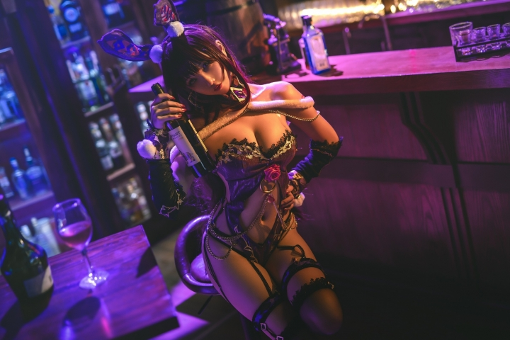 Bunny Girl Bar Scasaha Fate Grand Order013