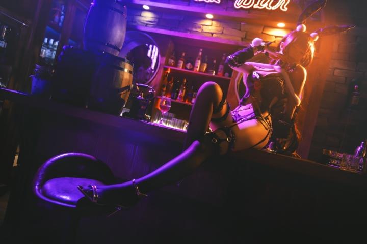 Bunny Girl Bar Scasaha Fate Grand Order016