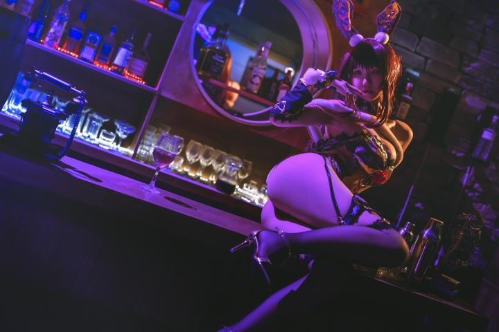 Bunny Girl Bar Scasaha Fate Grand Order017