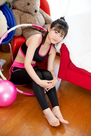 Risa Sawamura Leggings Training Wear002