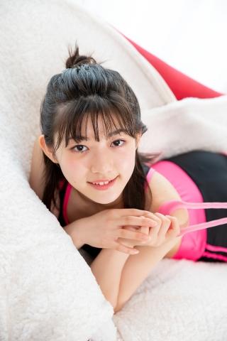 Risa Sawamura Leggings Training Wear013