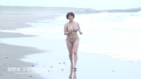 Konno bookmark swimsuit bikini gravure Hcup breasts out of specification019