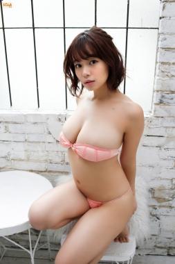 Wachi Tsukasa swimsuit bikini gravure The bulge is a national treasure018
