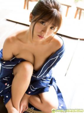 Aya Hazuki swimsuit bikini gravure I want to look closely at the fluffy Gtits003