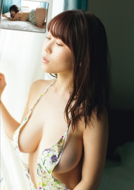 Iori Io swimsuit bikini gravure Beautiful white J cup002