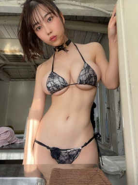 Iori Io swimsuit bikini gravure Beautiful white J cup007