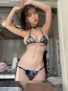 Iori Io swimsuit bikini gravure Beautiful white J cup008