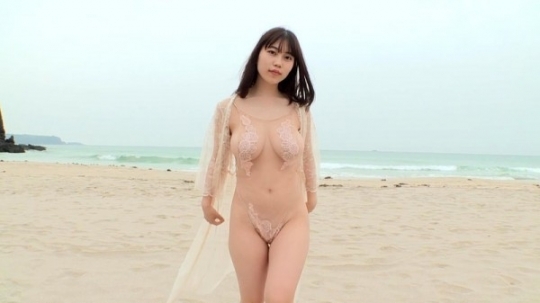 Iori Io swimsuit bikini gravure Beautiful white J cup025
