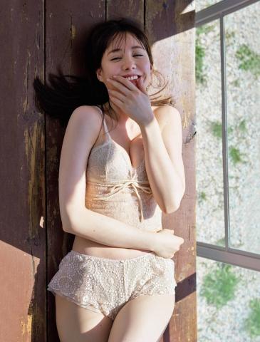 Reina Triendl swimsuit bikini gravur Fairy body in a new world008