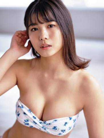 Asahi Nanami swimsuit bikini gravure Next break actress from Niigata 005