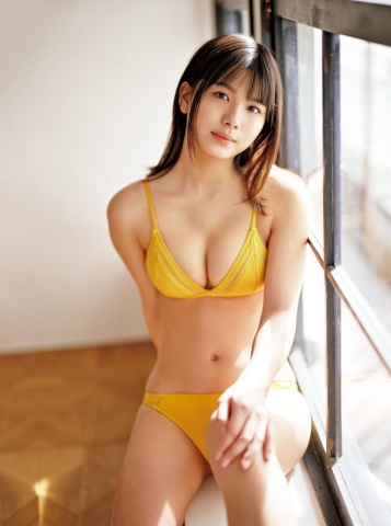 Asahi Nanami swimsuit bikini gravure Next break actress from Niigata 008