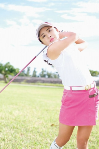 Sumire Noda when she takes off her golf wear006