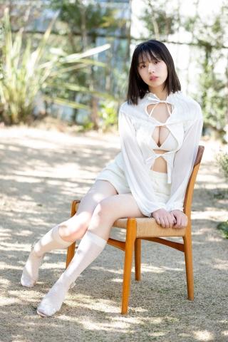 Himena Kikuchi White Swimsuit Bikini Pure Vol2004