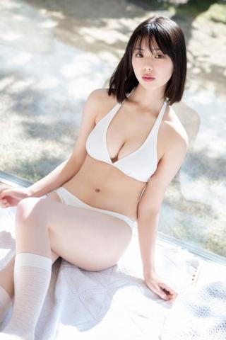 Himena Kikuchi White Swimsuit Bikini Pure Vol2015