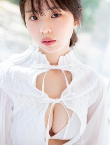 Himena Kikuchi White Swimsuit Bikini Pure Vol2016