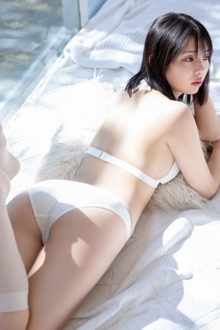 Himena Kikuchi White Swimsuit Bikini Gravure Pure Vol3003
