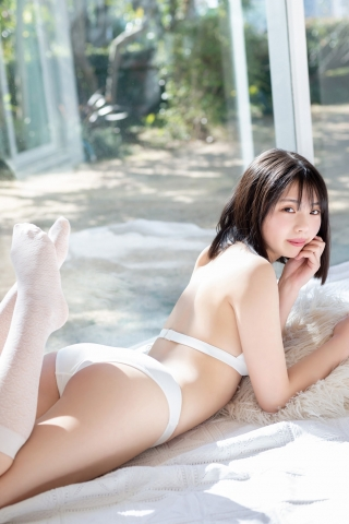 Himena Kikuchi White Swimsuit Bikini Gravure Pure Vol3004