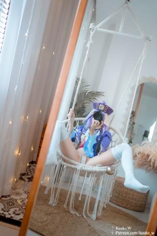 Bill Bikini Genshin Impact Cosplay019