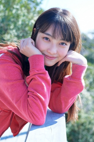 Rumika Fukudas First Swimsuit A New FirstYear High School Rookie005