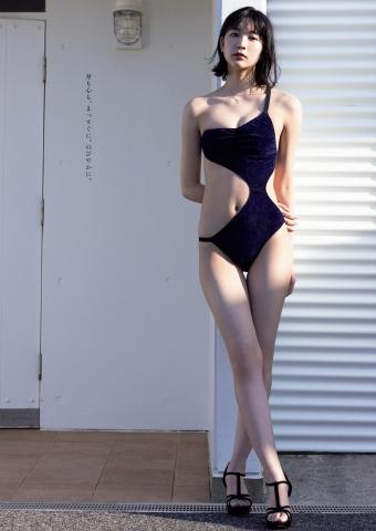 Onuki Rina swimsuit bikini gravure 10headed college student model002