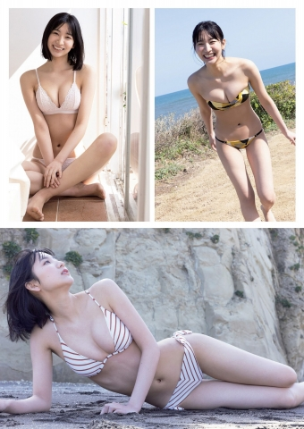 Onuki Rina swimsuit bikini gravure 10headed college student model004