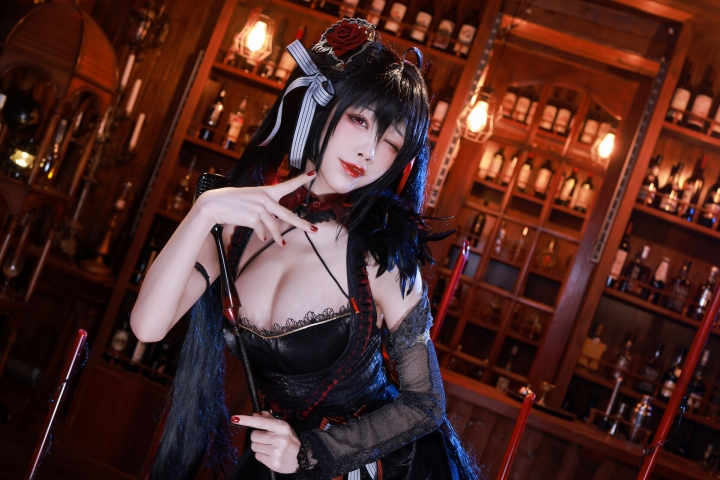 Cosplay Swimsuit Style Costume Dafeng Azur Lane Diva043