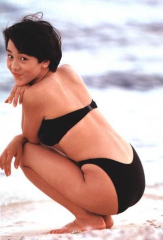 Hikaru Nishida swimsuit bikini gravure 1988 debut026