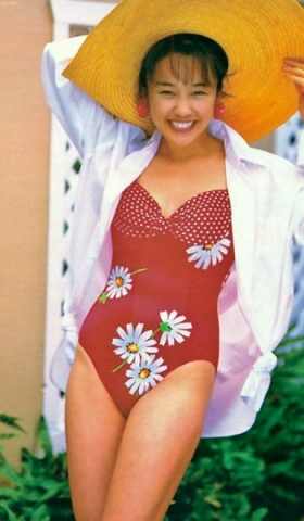 Hikaru Nishida swimsuit bikini gravure 1988 debut031