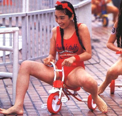 Hikaru Nishida swimsuit bikini gravure 1988 debut036