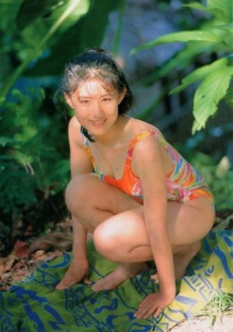 Yuri Nakae swimsuit gravure 1989 debut016