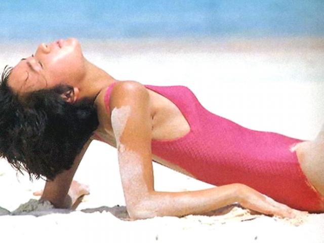 Yoko Ishino swimsuit bikini gravure 1985 debut045