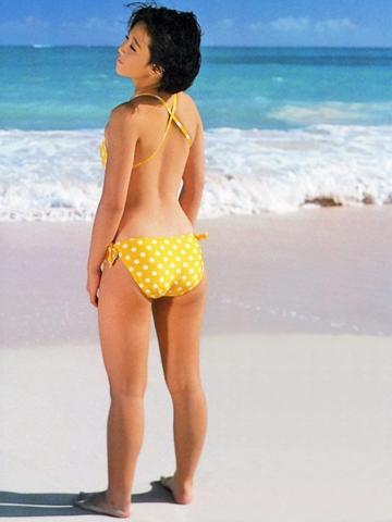 Yui Asaka swimsuit bikini gravure 1985 debut032