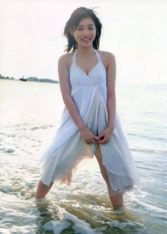 Satomi Ishihara swimsuit bikini gravure014