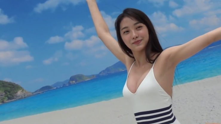 Rumika Fukuda First Swimsuit Large Rookie is a New High School Student021