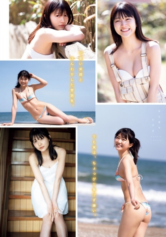 Hot New Actress in a Swimsuit: Sarara Saito002