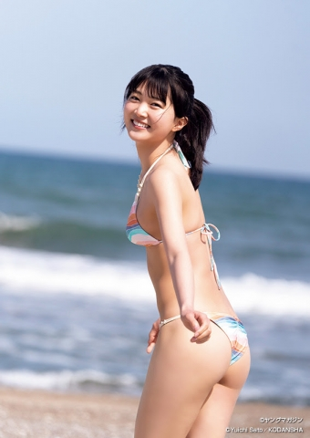 Hot New Actress in a Swimsuit: Sarara Saito006