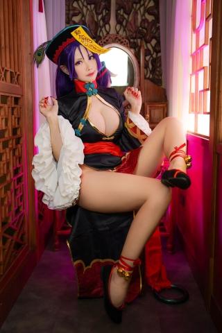 Cosplay Kyonshi Sexy Minamoto no Yorimitsu FGO018
