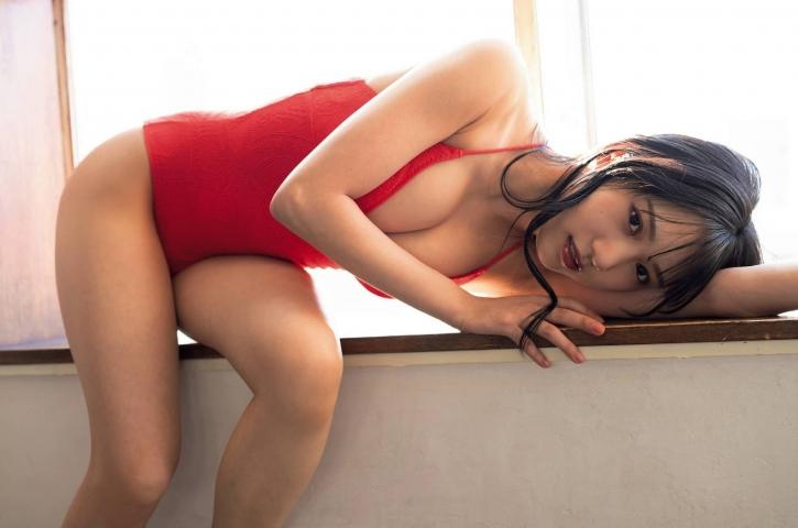 Sumire Yokono swimsuit bikini gravure Cute female panther011