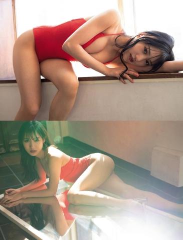 Sumire Yokono swimsuit bikini gravure Cute female panther013