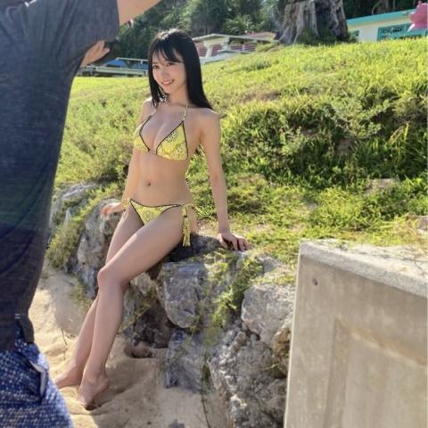 Sumire Yokono swimsuit bikini gravure Cute female panthe1r003