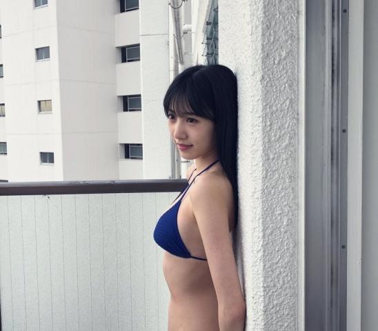 Sumire Yokono swimsuit bikini gravure Cute female panthe1r016